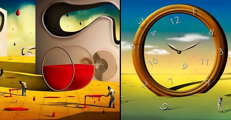 El surrealismo digital de Marcel Caram