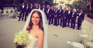 Esta boda costó $20 millones y juntó a la crema y nata de la farándula norteamericana