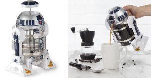 Esta cafetera de R2-D2 promete darte La Fuerza necesaria a tus mañanas