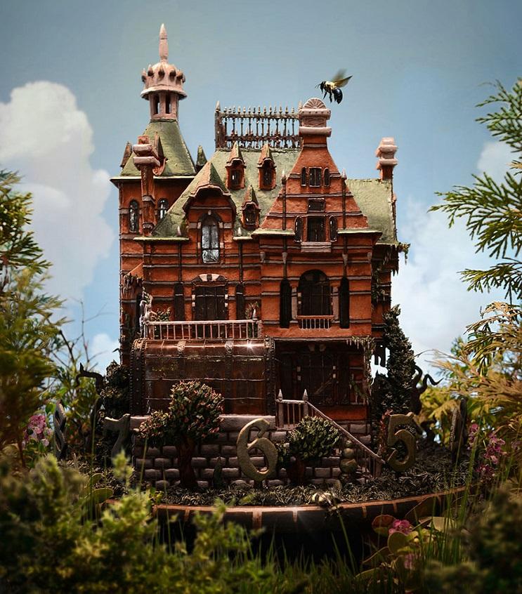 Esta casa se puede comer y es una r plica de la presentada - Casas de peliculas ...