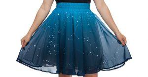 Esta falda brilla, literalmente, por sí sola