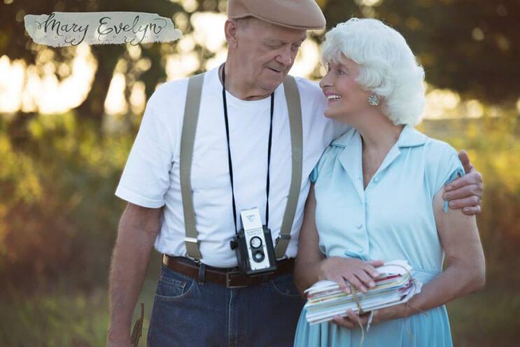 esta-pareja-celebra-57-anos-de-matrimonio-con-una-sesion-que-los-llevo-al-pasado-2