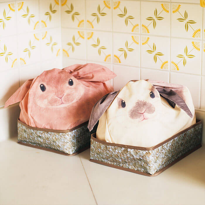 Estas bolsas se convierten con todo lo que guardes en ellas en conejos 01