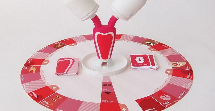 """Este """"Monopolio del período"""" enseña a las niñas sobre la menstruación"""