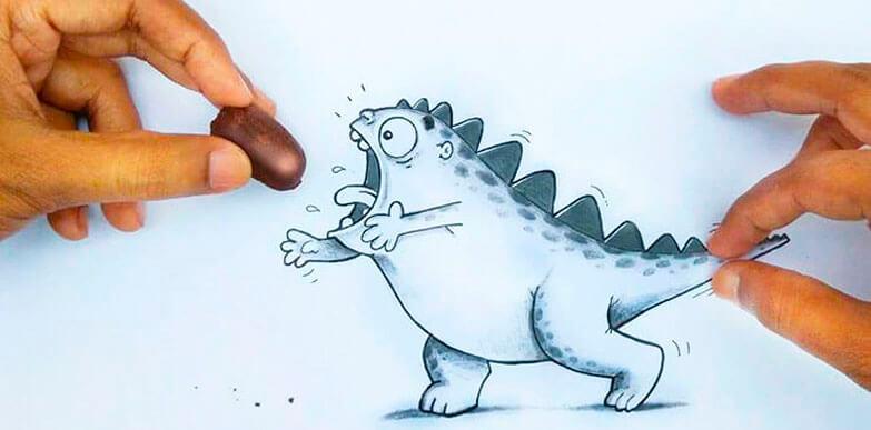 Este adorable dragón regresa con nuevas aventuras que abren el apetito por crear