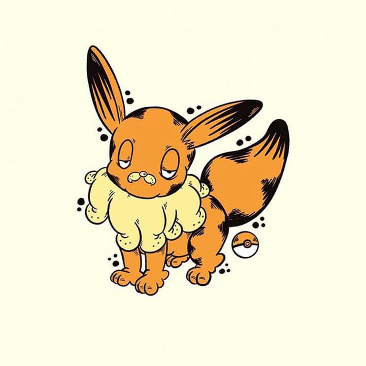 este-artista-decidio-dibujar-a-los-pokemon-como-si-fueran-garfield-de-una-divertida-manera-10