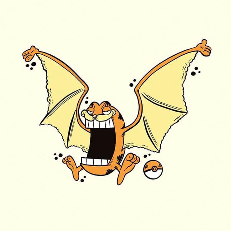 este-artista-decidio-dibujar-a-los-pokemon-como-si-fueran-garfield-de-una-divertida-manera-5