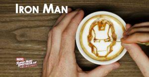 Este barista crea a los superhéroes de Marvel de una deliciosa forma