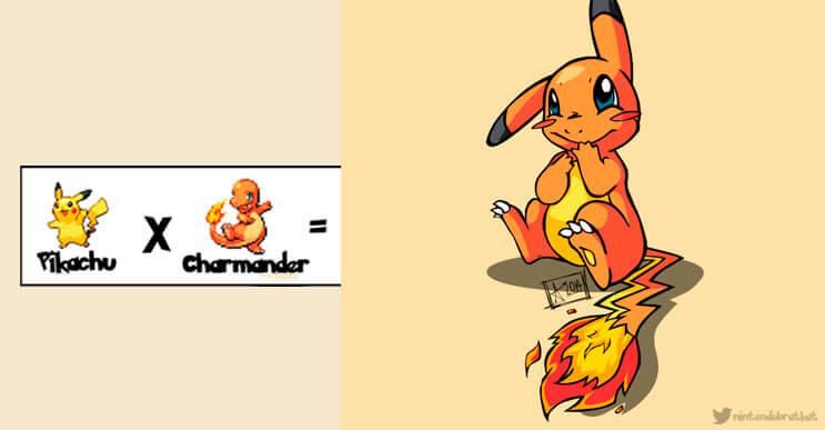 Estos Pokémones han sido fusionados y nuevas especies han sido creadas