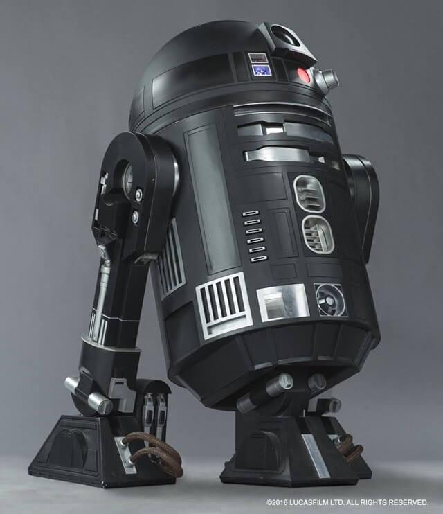 Internet enloquece con el anuncio de un nuevo R2-D2 del lado oscuro c2 b5