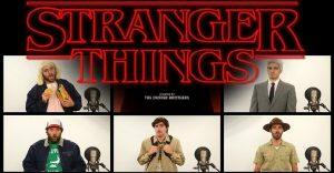 La canción de presentación de Stranger Things interpretada a capella