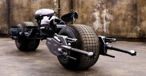 La motocicleta de Batman está a la venta