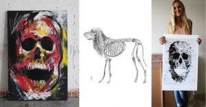Las increíbles pinturas de Verónica Villareal