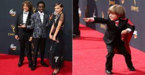 Los niños fueron los verdaderos protagonistas de los premios Emmy