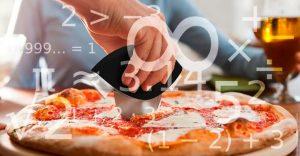 Matemáticos hallan la forma perfecta de partir una pizza