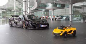 Para los padres amantes de los carros y la velocidad, este McLaren es para sus hijos
