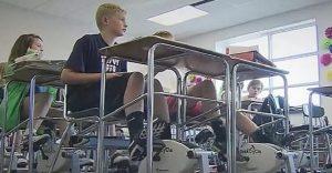Profesora encuentra una efectiva forma de inculcar el ejercicio durante clases