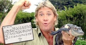 Publican carta del Cazador de Cocodrilos poco antes del aniversario de su muerte