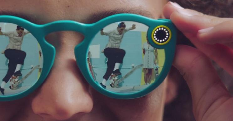 Snapchat cambia de nombre a Snap y presenta nuevas gafas con videocámara integrada