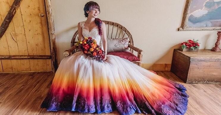 Una alternativa inusual a los tradicionales vestidos de novia - mott.pe
