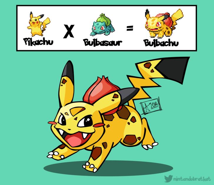 bulbasaur pikachu