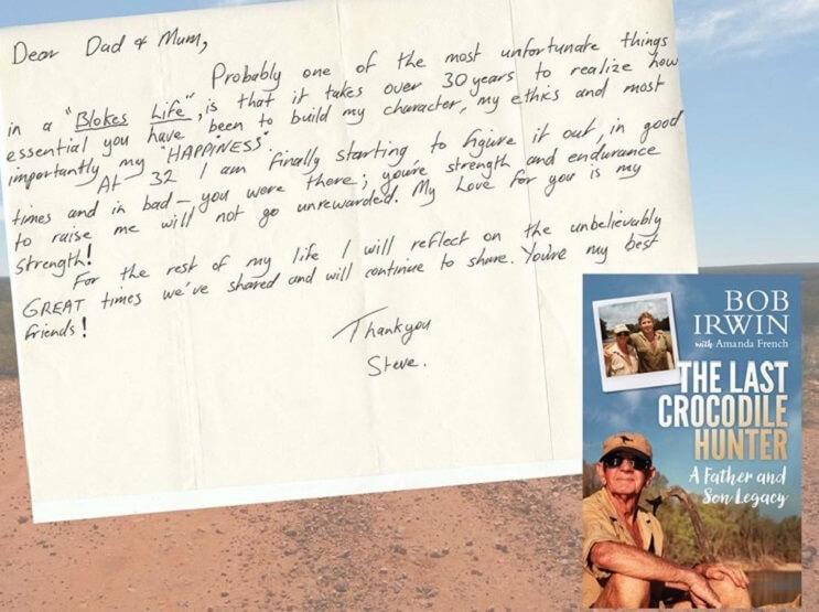 carta cazador de cocodrilos