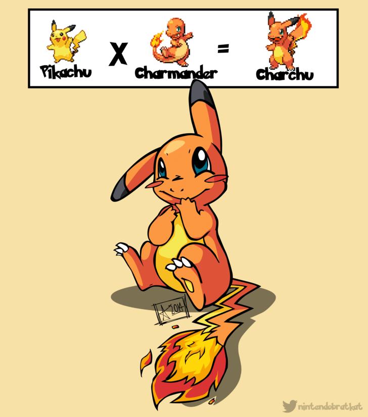 charmander pikachu