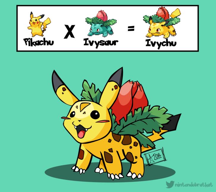 ivysaur pikachu
