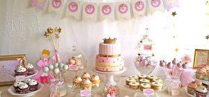Tips para decorar una mesa de fiesta infantil