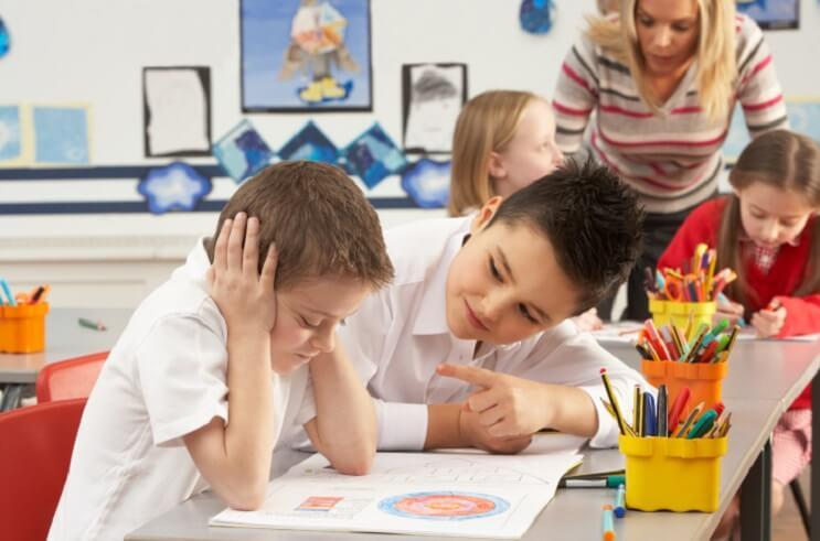 niños desconcentrados