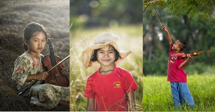 Conoce la inocencia que los niños de Malasia transmiten a través de estas fotografías