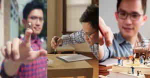 Cómo la monotonía llevó a hacer arte a Derrick Lin