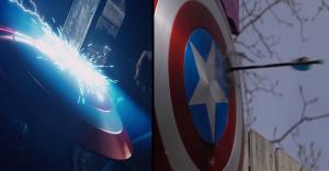 Crearon una increíble y poderosa réplica del escudo del Capitán América