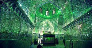 El interior de esta mezquita en Irán le da otro significado a la belleza