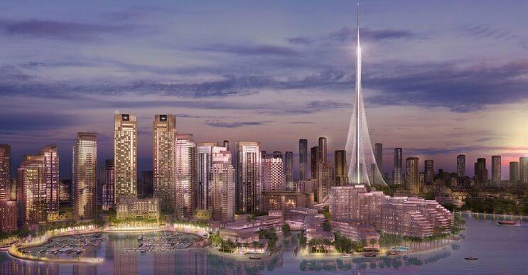 El nuevo edifico más alto del mundo se construye en Dubái y es todo lo que no te podrás imaginar
