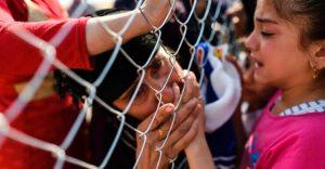 Emotivas fotografías de familias reencontrándose en Irak