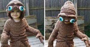 Esta madre hace los más divertidos disfraces a crochet