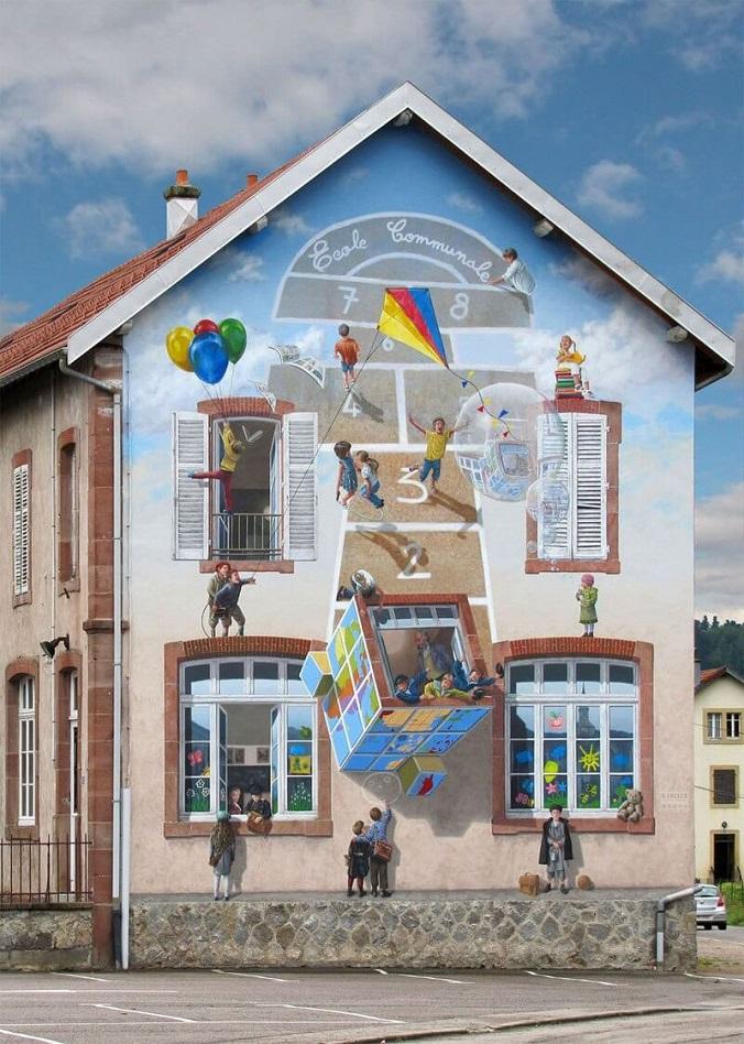 este-artista-transforma-las-viejas-paredes-de-edificios-en-murales-3d-que-juegan-con-la-realidad-ninos2