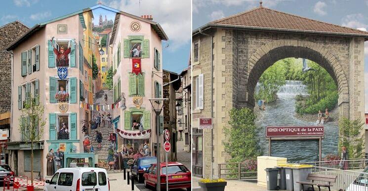 Este artista transforma las viejas paredes de edificios en - Murales de pared 3d ...