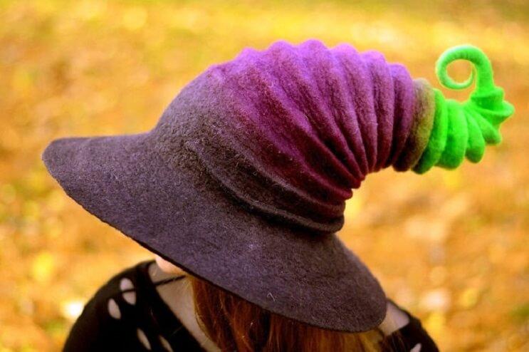 Estos sombreros de bruja son puro estilo y color - mott.pe