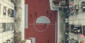 Inusuales campos de fútbol en Bangkok