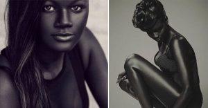 La belleza no está en el color de la piel y esta modelo senegalesa nos lo demuestra