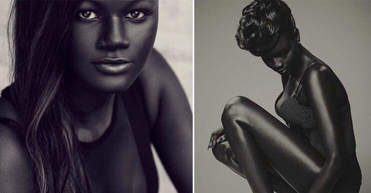 83743b825f9b2 La belleza no está en el color de la piel y esta modelo senegalesa nos lo  demuestra