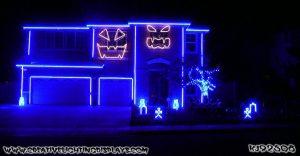 La decoración de esta casa para Halloween te hará agradecer que no sean tus vecinos