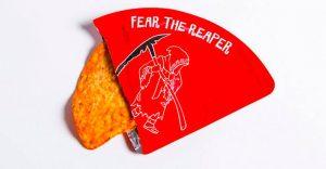 La tortilla más picante del mundo viene en este empaque individual y es fuego puro en la boca