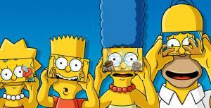 Los Simpson se lanzan al mundo de la realidad virtual para su capítulo #600