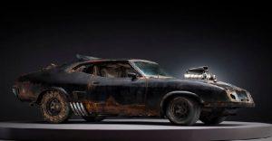 Los vehículos de Mad Max antes de ser preparados para la acción