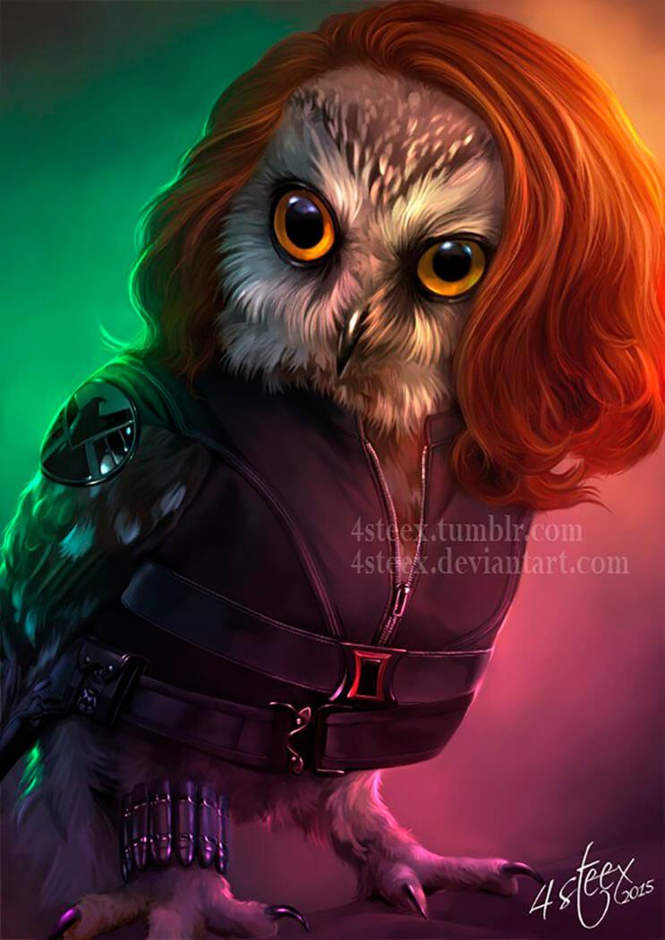 si-the-avengers-tuvieran-plumas-pico-y-patas-tal-vez-se-verian-como-estos-buhos-4