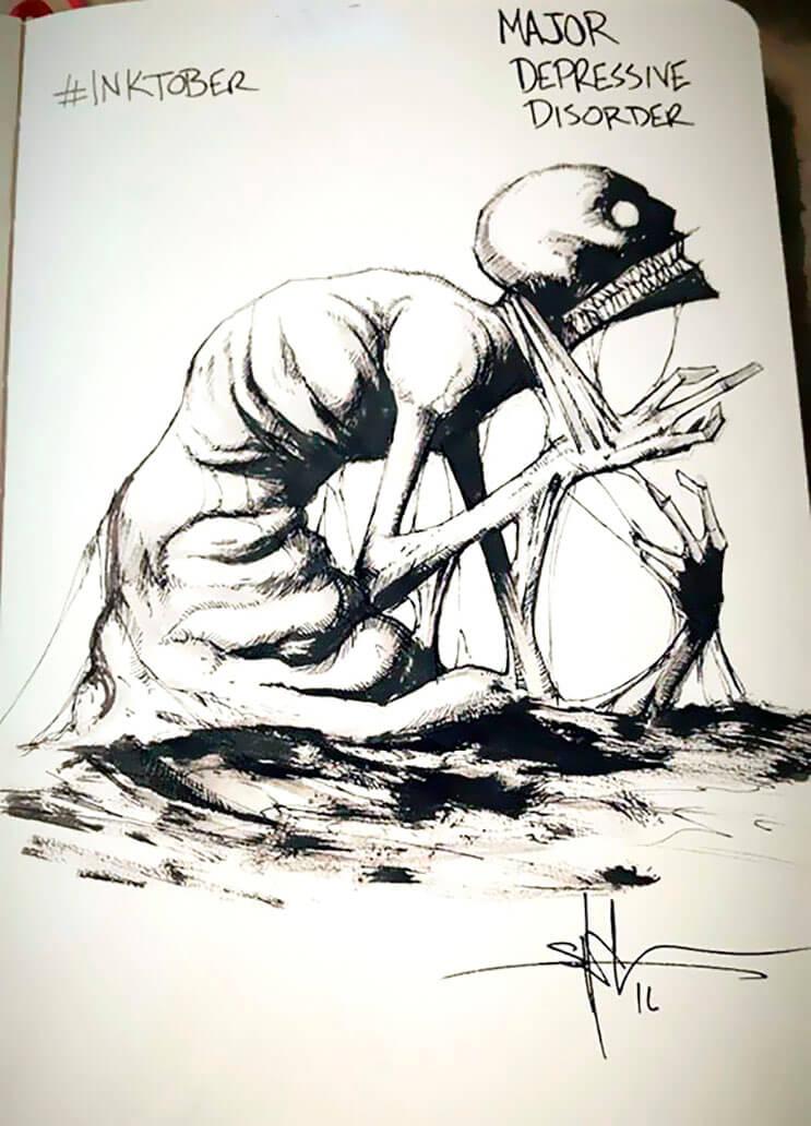 un-artista-nos-muestra-impactantes-ilustraciones-de-enfermedades-mentales-que-muestran-una-clara-realidad-3