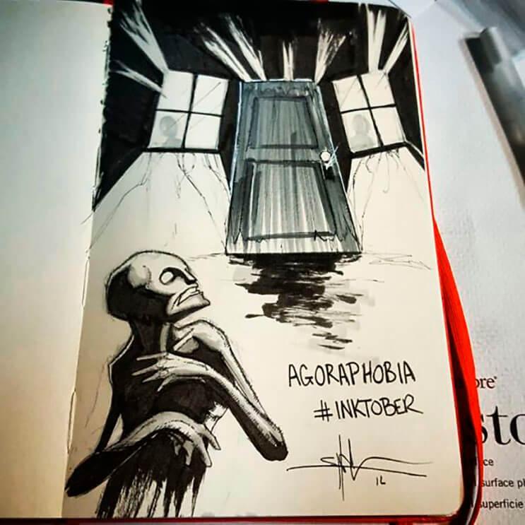 un-artista-nos-muestra-impactantes-ilustraciones-de-enfermedades-mentales-que-muestran-una-clara-realidad-7